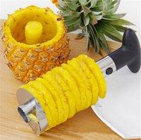 pineapple cutter - hot sale Fruit Tools Pineapple Corer Cutter Easy Tool Pineapple Peeler Stainless Steel Pineapple Corer Slicers
