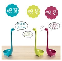 Wholesale Nessie Kitchen Monster Spoons Home Soup Ladle Cool Design Loch Ness Bar Supplies
