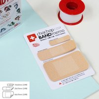 band aid sticker - Cute Band aid Series Memo pad Post it stickers Sticky notes paper Notepad kawaii stationery office papeleria supplies notas