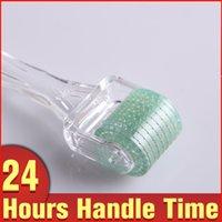 Wholesale Anti Wrinkle Sizes Micro Needle Face Skin Care Roller Skin Rejuvenation Scar Treatment Derma Roller
