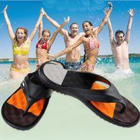 beach flipflops - New Nice Summer EVA Pop Sandals Mens Flip Flops Casual Patch Flipflops Men Sandalias Hombre Beach Slippers For Man A118