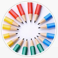 Wholesale 5pcs Portable Automatic Write Constantly Resins Pencils Creative Pencil Student Stationery With Refills Material Escolar