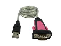 Wholesale USB TO RS232 SERIAL DB9 PIN ADAPTER CABLE