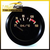 Wholesale 2 quot mm Universal Oil temp gauge C auto meter auto gauge tachometer car meter Racing meter