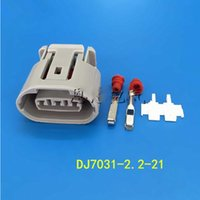 alternator plug - 30Sets Pin Car connector ALTERNATOR LEAD REPAIR Fits For Denso and for mitsubishi oval Harness for Toyota Suzuki way Plug