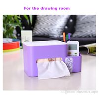 Wholesale The new creative removable tissue box European style with shrapnel for office drawing room kitchen bathroom multifunctional tissue holder