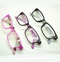 Wholesale Womens Ladies Colors Flowers Plaid Frame Temples Fashion Patterns Retro Vintage Reading Glasses Readers