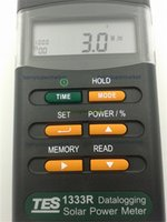 Wholesale Datalogging Solar Power Meter TES R RS Interface