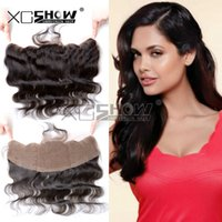 baby products cheap - Rosa hair products fashion brazilian virgin hair body wave lace frontals with baby hair cheap brazillian full frontal lace closure x