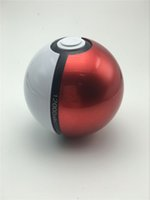 ball port - Hotest mAh Poke mon Go Pokeball II Power Bank Magic Ball Charger Double USB Port A Fast Charger Retail Box USB Cable