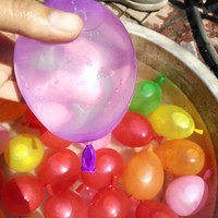 ballon magic - Water Ballons Magic Bunch Colorful Ballon Kids Water Game Summer Toys Fill a Bunch in a Minute Toys Gifts Activity Amusement Toys