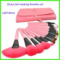 makeup brush 24 pcs /set Synthetic Hair 24 Pc   Set Pro Soft Women Lady Foundation Powder Face Eye Shadow Cosmetic Make Up Brushes Set for Makeup Beauty Tools