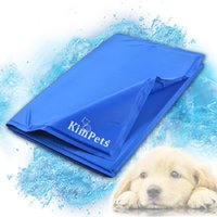 Wholesale Cool Pet Cool Ice Pad Teddy Mattress Mat Small And Large Dogs Cat Cage Cushion Summer Keep Cool Bed Kimpets
