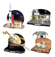 apollo saturn - Apollo Lunar Module Voyager Saturn V D Puzzles Toy Children DIY Puzzle Games Gift Toy for Adult Children s Birthday