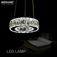 art deco lamps for sale - Hot Sale Ring D200mm LED Crystal chandelier light lamp lustre De Cristal hanging lighting for Dining room Hotel MD2226