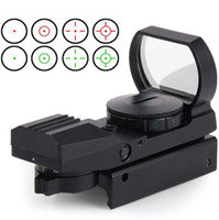accessories red dot sight - Hot mm Rail Hunting Optics Riflescope Holographic Red Dot Sight Reflex Reticle Tactical Scope Hunting Gun Accessories