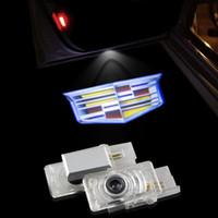 ats cars - Led Laser Projector Light Courtesy Light Car Styling Auto Deur Licht For Cadillac SRX SXT ATS TS