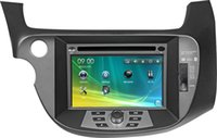 audio video entertainment - 7 inch Special Car DVD Player for Honda Fit Car Entertainments Car Video Audio With GPS BT CDC SD USB ATV RDS IPOD G SD Map
