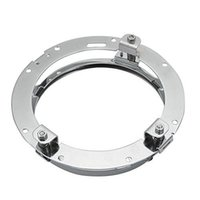 Wholesale 1 Round Headlight Mounting Bracket Ring for LED Projector Headlight for Harley Davidson