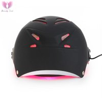 Wholesale 2016 hair regrowth helmet with diode soft lasers anti hair loss products for sale free glasses