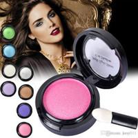 baked eyes - Eye shadow Palette in Shimmer Metallic Colors Baked Eyeshadow M01518