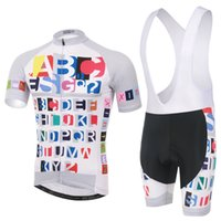 abc cycles - Cycling Jersey Sets Strap Sets ABC Short Sleeve Summer Breathable moisture absorption and perspiration Comfortable Fashion