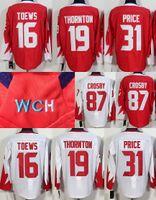 winnipeg jets jersey - Crosby World Cup Team Olympic Hockey Jerseys jonathan toews Carey Price Steven Stamkos Joe Thornton