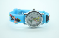 disney wholesale - 3D Cartoon Mickey Minnie Mouse Watch For Disney Cartoon Children Watch Boys and Girls Cute Watch COlors XRSB18
