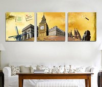 abstract architecture - 2015 New Egyptian architecture canvas wall painting for aisle decoration Paint on Canvas Prints