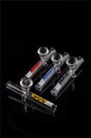 Wholesale Newest Colorful glass pipes cheaper pipe smoking pipe glass bong water pipe