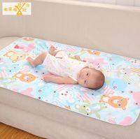 baby mattress protector - New kids Changing Mat Cover Mattress Sheet Protector Bedding Burp baby changing mat Breathable Waterproof Pad Reusable cm