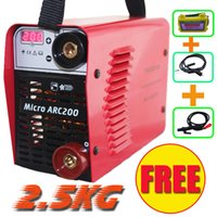 Wholesale Promotion welder NEW V only KG A hand Inverter DC MMA IGBT diy welding machine equipment and solar eyes mask