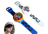 Wholesale DX Yo kai Watch Japan Anime Yokai Watch Lighting sound watch Medal Baby gifts