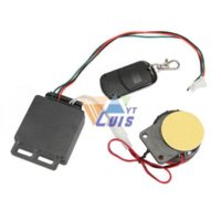 Wholesale 2v Remote Control Alarm System Security Single way Anti theft Alarm Protection Motorcycle Scooter Motorbike Motorized Bicycle Theft Prote
