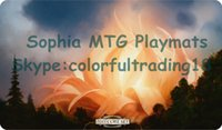 Wholesale single choices standard X35cm size mtg playmats mtg games related products high quality mtg playmat