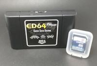 Wholesale Everdrive N8 n64 China Version V1 with GB ed md Megaman ed64 super N Earthbound Game Card Sega Genesis Megadrive Cartridge