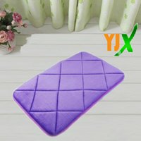 Wholesale Fashion color new car flower non toxic bathroom mat