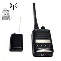 Wholesale Wireless UHF Voice Bug Audio Transmitter Eavesdroping Device UHF listening Device with Voice Recroding Support GB Card