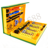 apple open box - 38 in Precision Multipurpose Screwdriver Set Repair Opening Tool Kit Fix For iPhone laptop smartphone watch with Box Case
