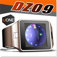 al por mayor smart phones-DZ09 inteligente reloj GT08 U8 A1 Wrisbrand Android iPhone iWatch inteligente SIM reloj teléfono móvil inteligente puede registrar el estado de suspensión inteligente iWatch