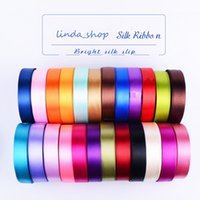 Wholesale 2cm Width Multi Color Ribbon Wedding Decorations Party Supplies Wedding Decor Gift Package Ribbons Gift Jewelry Boxes Wrap Ribbon JB0036