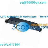 Wholesale 1U Server chassis mini ITX motherboard chassis Aluminum panel Concealed in the wind