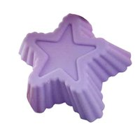 big candle molds - LNHF Big X Silicone Star Shape Chocolate Jelly Soap Candle Cup Cake Muffin Baking Molds