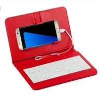 andriod flip phone - 2016 NEW HOT General Wired Keyboard Flip Holster Case For Andriod Mobile Phone keyboard holster phone