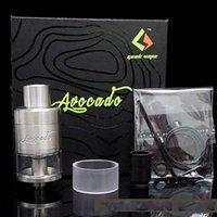 avocado oil - Mechanical Electronic Cigarette Big Oil Avocado RTA Tank Atomizer mm Color Black And White Hot Models plr