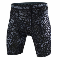 Wholesale Newest Fitness Running Sport Shorts Men Gym Tights Compression Shorts Bermuda Surf Basketball Training Camouflage Short Pants