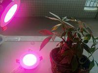 aqua led lights - 12W Led Plant Grow lights led Plant Growing Lamp aqua SAA LED Downlight Dimmable Recessed LED downlights AC200 V white frame cutout mm