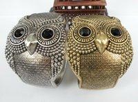 Wholesale HOT Sale Vintage Women Punk Owl Bangles COLORS Bracelet Bangle