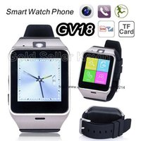 android connectivity - Smart Watch Aplus GV18 Clock Sync Notifier Support Sim Card Bluetooth Connectivity Apple iphone Android Phone Smartwatch Watch