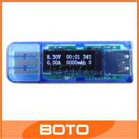 Wholesale Voltage Current Power Capacity USB Mobile Tester OLED Display USB Multifunction Measuring Meter